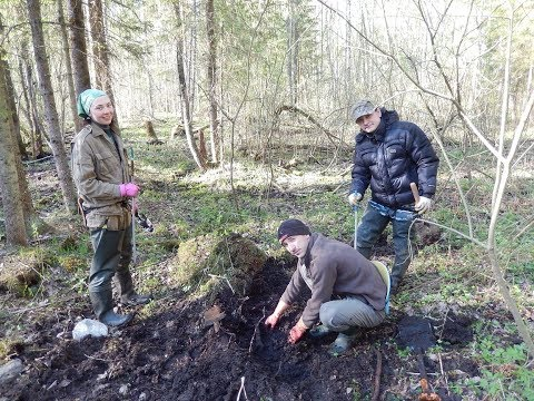 Valley of Death: exhumation of WWII soldiers in the Leningrad region