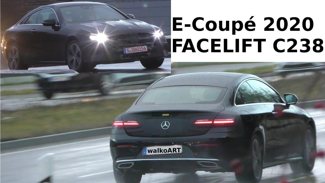 Mercedes Erlkönig - E-Klasse E-Class Coupé C238 Facelift ...