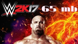No fake 1000% real. How to download wwe 2k17  in just 65 mb in your android smartphone