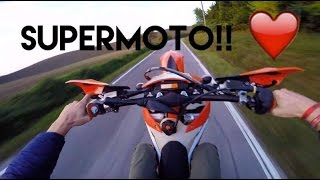 KTM SUPERMOTO 200cc - KILLING THAT MOTO -