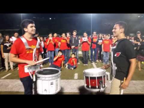 Whittier vs. Whittier Christian Drum Battle