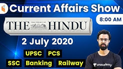 8:00 AM - Daily Current Affairs 2020 by Bhunesh Sir | 2 July 2020 | wifistudy