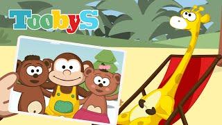 Músicas e Canções para Crianças | Canção das férias | Toobys | HD