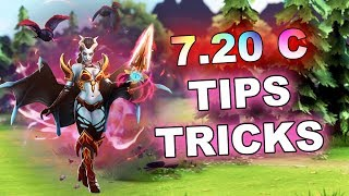 7.20c Dota 2 NEW Tips and Tricks!