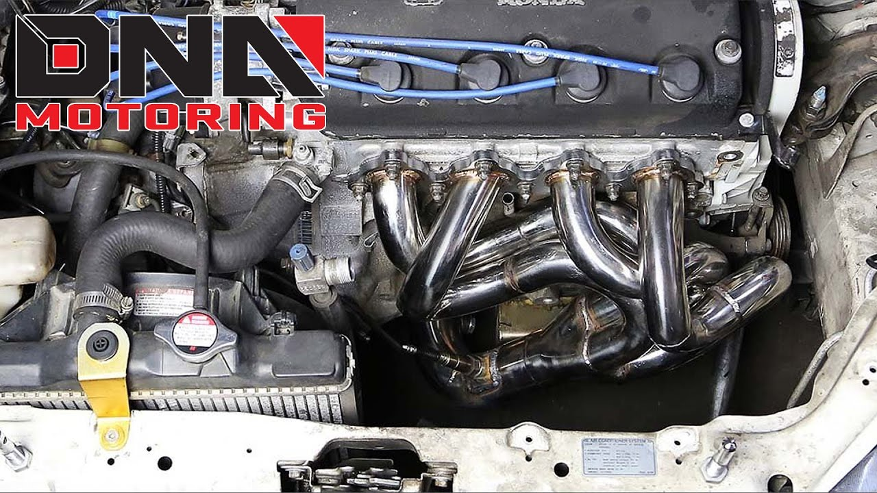 how to install 88 00 civic crx del sol drag racing header youtube 1989 Honda Civic CX how to install 88 00 civic crx del sol drag racing header
