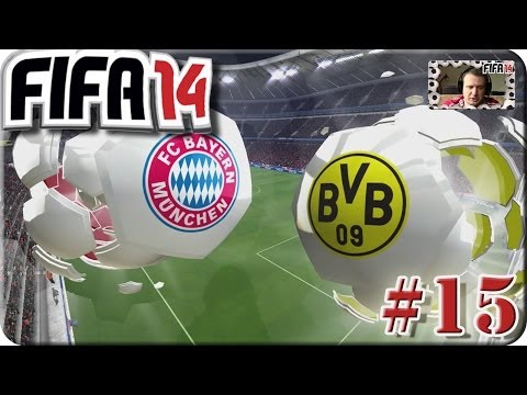 Fifa 14 - Bundesliga FC Bayern München VS Borussia Dortmund [Lets Play #15]