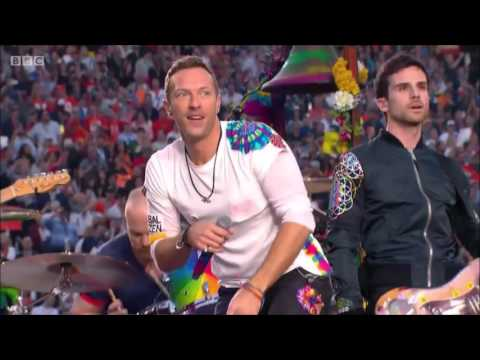 SuperBowl 50 Halftime Show 2016 - COLDPLAY ONLY ! [HQ] [HD] FULL Performance