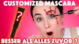 Die PERFEKTE custom made MASCARA ❓❗️ | Maß angefertigte MASCARA FIRST IMPRESSION  | Hatice Schmidt