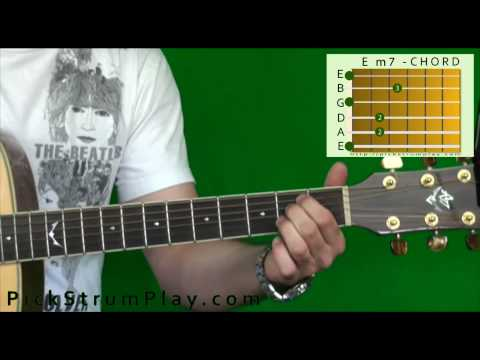 How to Play an E Minor 7 Chord on Guitar (Em7)