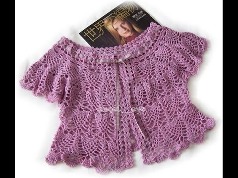 Free Crochet Patterns For Vests Beginners : crochet shrug how to crochet vest shrug free pattern ...