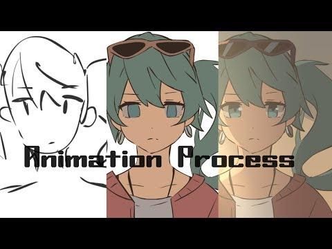 Sand Planet  [Animation Process Video]