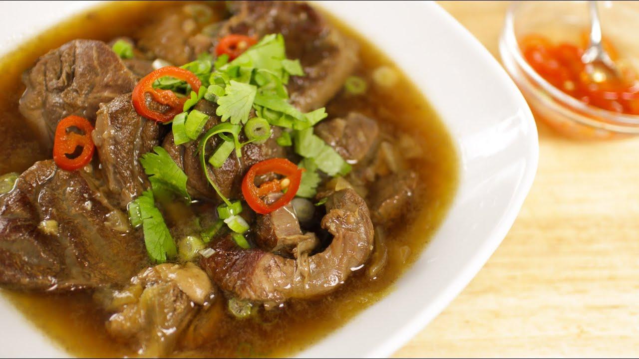 Thai beef stew recipe hot thai kitchen youtube forumfinder Choice Image