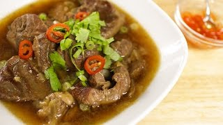 Thai Beef Stew Recipe เนอตน - Hot Thai Kitchen!