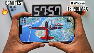iPhone 13 Pro Max Pubg Test, Heating and Battery Test | Gaming Beast 💪