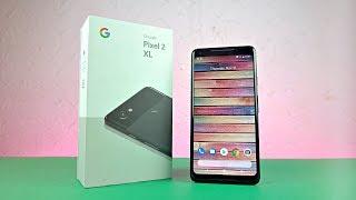 Google Pixel 2 XL (JUST BLACK) - UNBOXING!!!