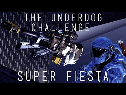 Halo 5 - The Underdog Challenge // Super Fiesta