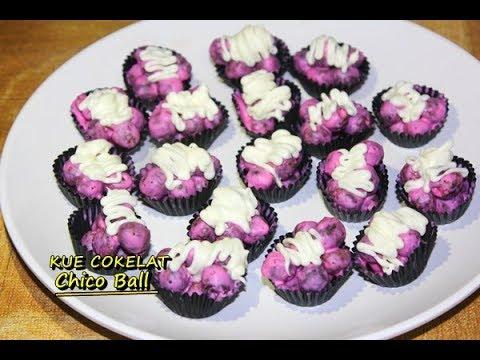 Kreasi Membuat Kue Praktis Dengan 2 Bahan Chiko Ball Cokelat Mudah Dan Enak Ala Zasanah