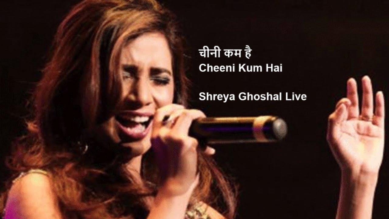 Download Shreya GhoshalLive | Cheeni Kum - Title Track (चीनी कम है)