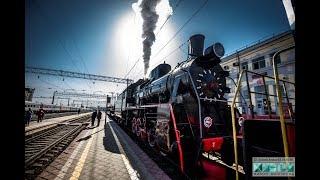 Ретро-поезд «Воинский эшелон» отправился с концертной программой по станциям Приволжской ЖД