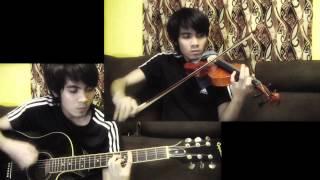 Dahan - December Avenue (guitar and violin cover)