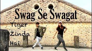 Swag Se Swagat Dance Choreography | Tiger Zinda Hai | Dance by Prachi Sanghvi & Gautam Naugain