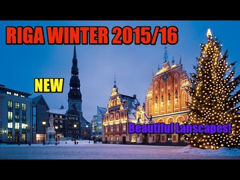 Riga Winter 2015/16! Beautiful destinations!