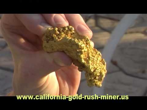 Nevada Gold Nugget Prospecting - Huge Gold Nugget