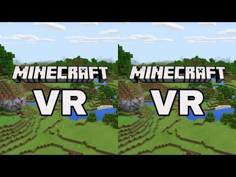 Minecraft VR SBS 3D VR Video (Google Cardboard, Oculus Rift, VR Box 3D)