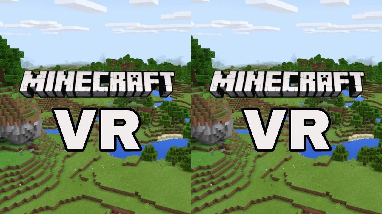 Minecraft VR SBS 10D VR Video (Google Cardboard, Oculus Rift, VR Box 10D)