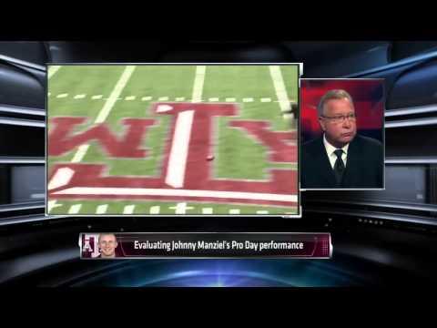 Ron Jaworski Reacts to Johnny Manziel