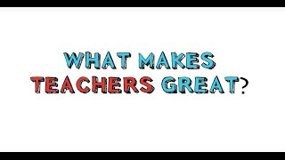 Video This Is What Makes A Great Teacher! download MP3, 3GP, MP4, WEBM, AVI, FLV November 2017