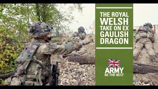 Exercise Gaulish Dragon | The Royal Welsh | British Army