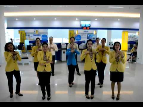 Yel yel BCA Kuta Bali (CSO BCA KUTA)