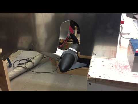 Retractable bow thruster on the cheap.