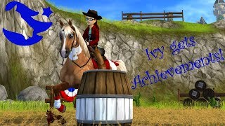Ivy gets achievements! ~ Star Stable Online [SSO]