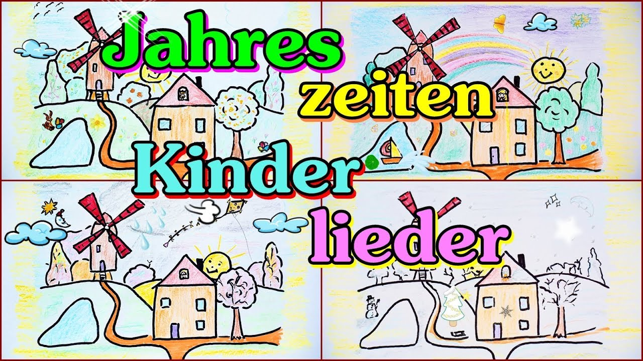 jahreszeiten kinderlieder mix zum mitsingen kinderlieder deutsch f r kindergarten und. Black Bedroom Furniture Sets. Home Design Ideas