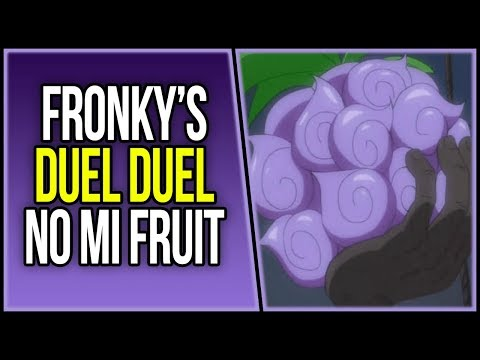 The Duel Duel no Mi   One Piece Custom Devil Fruit   ワンピース
