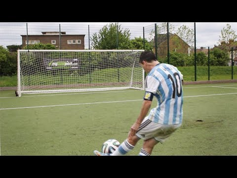 PLAY Like LIONEL MESSI!! 5 Amazing FOOTBALL Experiments TESTED That WORK!!