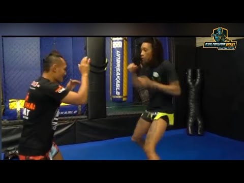 Wiz Khalifa MMA Training and Strength Workout