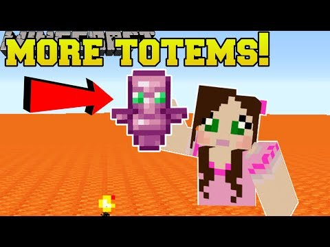 Minecraft: MORE TOTEMS!! (ORE DETECTOR, TOOL REPAIR, & MORE!) Mod Showcase