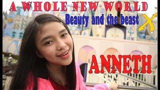 Gambar cover ANNETH - DISNEY MEDDLEY  //  A WHOLE NEW WORLD ost. ALADDIN  -   BEAUTY AND THE BEAST ost.
