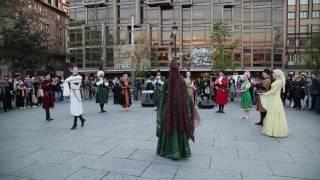 Песни и танцы народов КЧР поразили несколько сотен гостей и жителей французского Страсбурга