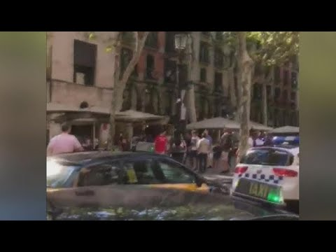 Download Youtube: Van plows into crowd in Barcelona