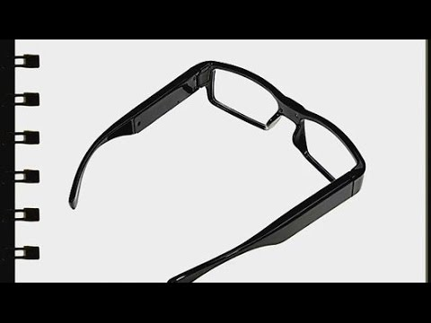 a607b843cc DVR hidden camera spyglasses test demo review—Using while driving ...