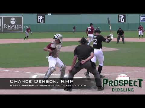Chance Denson Prospect Video, RHP, West Lauderdale High School Class of 2018