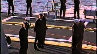 USS John Rodgers (DD-983) 1986/87 Med Deployment - Finale