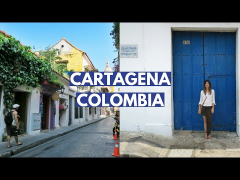 Travel Vlog: The Magical Streets Of Cartagena Colombia (Things To Do)