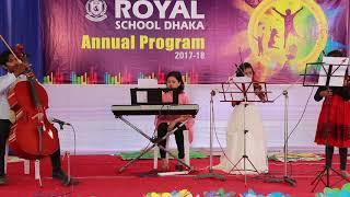 Annual Program 2017-18 Royal School Dhaka: Instrumental Music with their Mentor