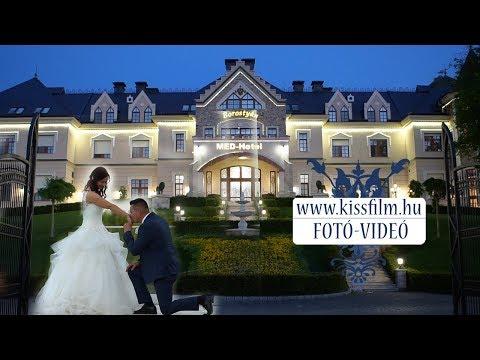 Anikó és Norbert esküvői pillanatai (Borostyán Med Hotel) Előzetes KISSFILM.HU