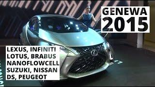 Genewa 2015 - Prezentacje